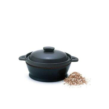 THERMOSサーモス 保温燻製器 イージースモーカー RPD-13 BKブラック【沖縄・離島は送料無料対象外】 (6001231)