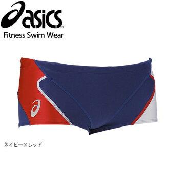 大的尺寸有,小的尺寸有,供到達asics亞瑟士遊泳比賽灌溉用水人男性使用的紳士事情ASM804遊泳服裝訓練健身箱短褲短褲遊泳海水褲子海麵包深藍紅SS S L O