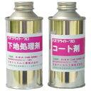 日本ケミカル工業 バスブライト・プロ/下地処理剤セット(各200ml)