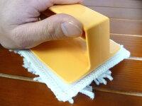 【お掃除洗剤はKis!】【階段WAXや部分的なワックス補修・再塗布用に】ミニミニハンディモップ【モップ糸1枚付!】