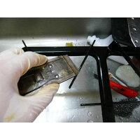 【キッチンの五徳のコゲつき油の除去掃除に】ハンディスクレイパー