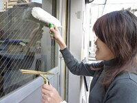 【手軽にキレイ!便利な窓掃除セット】窓用スクイジー&ウォッシャーセット