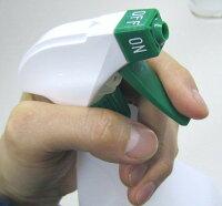 手指消毒用空容器ガンスプレー1Lラベル付