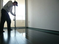 【お掃除洗剤はKis!】【送料無料】現役プロ推奨業務用ワックスモップ伸縮自在で腰を痛めない!立ったまま床用ワックスモップ【大】フロアコーティング&フローリングwax塗布に最適♪