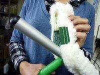 【お掃除洗剤はKis!】【ガラス面の汚れをゆるめる♪】ウインドーウォッシャーの替えカバー(窓拭きシャンパー替え布)