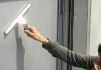 ★楽天ランキング1位★【洗剤不要で簡単窓掃除】【ステンレス銀色タイプ】業務用スクイージー・ゴムスクイジー・高耐久水切りゴムワイパー