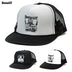 BEOWULF (ベオウルフ) BWF MAN MESH FLIP HAT バンド マーチャンダイズ Suicidal Tendencies メッシュキャップ 白/黒/グレー 【あす楽対応】