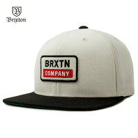 【2017SUMMER最新作】BRIXTON(ブリクストン)DEWEYSNAPBACKOFFWHITEブリクストンキャップスナップバックキャップスナップバック帽子ブランド【あす楽対応】