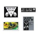 SKATER MADE (スケーターメイド) Sticker ステッカー ブラン...