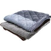 あったか吸湿発熱敷きパッドシングル100x205cm省エネ対策中綿増量洗える/洗濯丸洗い冬あったかあたたかもこもこふわふわ厚毛布敷パット