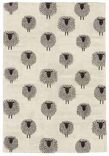 LINAS キッチンタオル 柄:ひつじ リナス/リトアニア製/北欧/布巾/ハーフリネン/キッチンクロス/羊柄/sheep