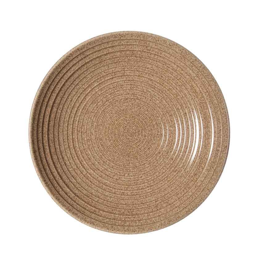 イギリス食器  Denby デンビー スタジオクラフト リッジボウルM 25cm (エルム) 耐熱/おしゃれ/かわいい/おすすめ/ギフトセット/レトロ/ナチュラル