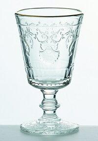 LaRochereラ・ロシェールヴェルサイユワイングラス金巻ガラス/海/貝/フランス