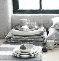 イギリス食器バーレイ社ダブグレイキャリコマグカップ284mlBurleigh/英国製/鳩/花柄/おしゃれ/上品