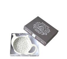 英国食器バーレイ社ダブグレイキャリコティーポットトレイギフトBOX付きイギリス/ティーバッグトレー/紅茶
