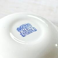 英国食器バーレイ社ブルーキャリコスープボウルΦ20.5cm