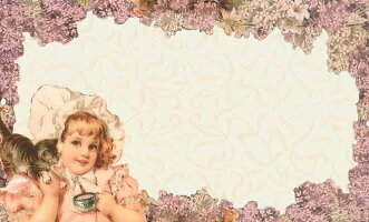 ヴィクトリアンミニメッセージカード