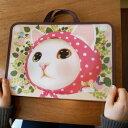 ピンクずきんが可愛いリバーシブルタイプのキャリングバッグ♪キャリングバッグです♪キュート...