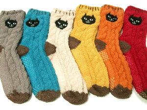 楽天ランキング1位入賞【メール便OK】イタズラネコちゃんが靴下になりました♪とっても可愛くて...