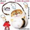 スマホポーチケースポシェットデジカメケースミニポシェットHenryCats&Friends猫雑貨ネコグッズ薔薇雑貨のおしゃれ姫
