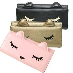 【2/29(月)9:59までポイント最大5倍】売れ筋 長財布 ねこ ロングウォレット 猫 さい…