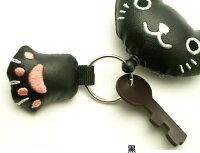 のびのびキーホルダーねこちゃんのお顔ねこ雑貨ネコ雑貨猫雑貨ねこグッズネコグッズ猫グッズキャット薔薇雑貨のおしゃれ姫レディース