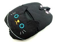 ミトンキッチンミトン黒猫ねこのしっぽの物語ねこのキッチンミトンクロネコグッズ薔薇雑貨のおしゃれ姫