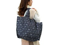ショッピングバッグトートバッグ猫柄ブラックショルダーバッグ手提げカバンエコバッグサブバッグ