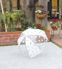 ビニール傘J-CAT+ネコマニア長傘雨傘ネコ柄自動式ワンタッチ傘ジャンプ傘かさカサ傘アンブレラネコグッズ猫雑貨ノアファミリー