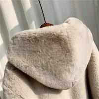 中綿コートロングコート中綿パーカーレディース膝上フード付き裏ボアジャケットパーカー中綿コートトップス体型カバー大きいサイズゆったり防寒暖かい通勤おしゃれ冬物