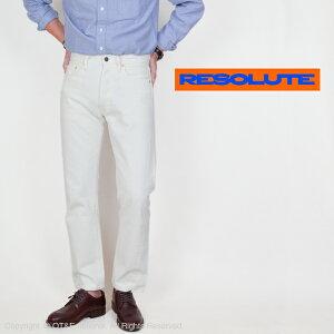 リゾルト(RESOLUTE)10周年限定ホワイトジーンズ Lot AA710