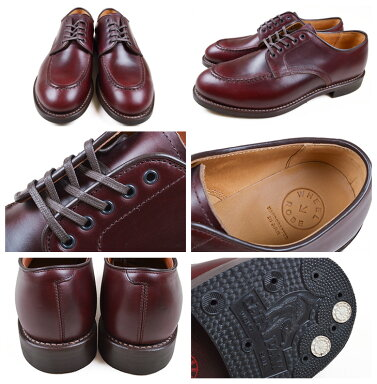 Wheelrobe Heavy Stitching Moc Toe 15078: Burgundy, Black
