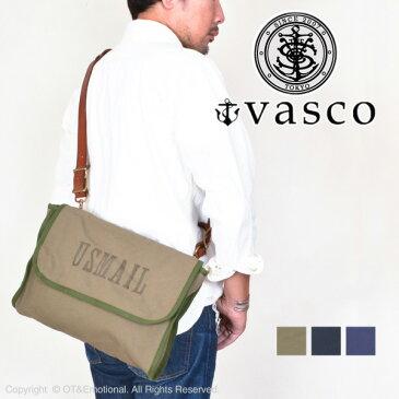 ヴァスコ(vasco) キャンバスメールサコッシュ Medium VS-259