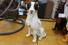 陶器犬ダルメシアン