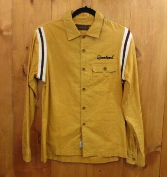 【中古】QUENCHLOUD クエンチラウド 長袖シャツ サイズ:2 カラー:マスタード系 / ストリート