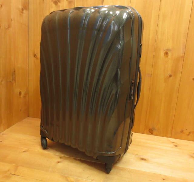 【中古】Samsonite サムソナイト スーツケース キャリーバッグ カラー:チャコールグレー系:お宝市番館