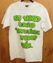 【中古】STUSSY/ステューシー 半袖 Tシャツ サイズ:M カラー:ホワイト / ストリート