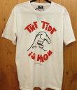 【中古】STUSSY/ステューシー HIGH TIDE Tシャツ 半袖 サイズ:M カラー:ホワイト / ストリート