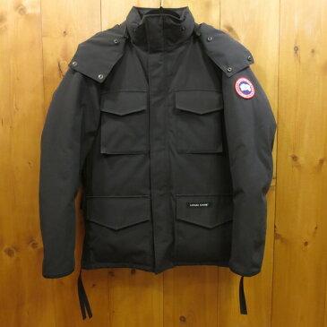 【中古】CANADA GOOSE カナダグース KAMLOOPS ダウンジャケット サイズ:S カラー:ブラック / アウトドア【f108】