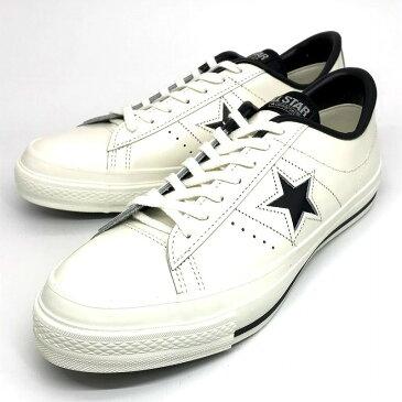 【中古】CONVERSE コンバース ONE STAR J/ワンスター/レザースニーカー/MADE IN JAPAN WHITE サイズ:28【f126】