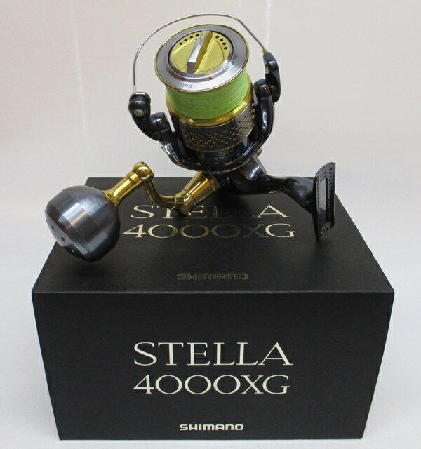 SHIMANO/シマノ10 ステラ 4000XG【中古】【釣り/つり/釣具/リール/スピニング】*0