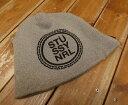 【中古】STUSSY×NRL/ステューシー×エヌアールエル ワッチキャップ ニット帽 サイズ:- カラー:グレー