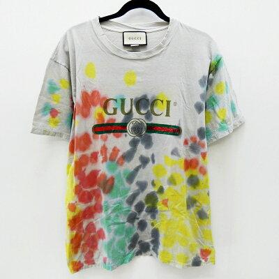 GUCCI (グッチ) ロゴTシャツ
