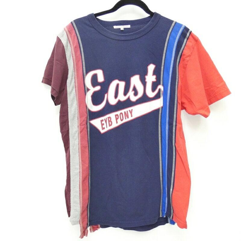 トップス, Tシャツ・カットソー Rebuild by Needles 7CUTS TEE T M f099