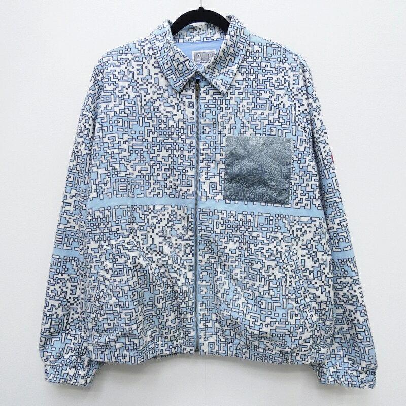 メンズファッション, コート・ジャケット C.E CAVEMPT :19AW NOISE FLANNEL ZIP JACKET M f095