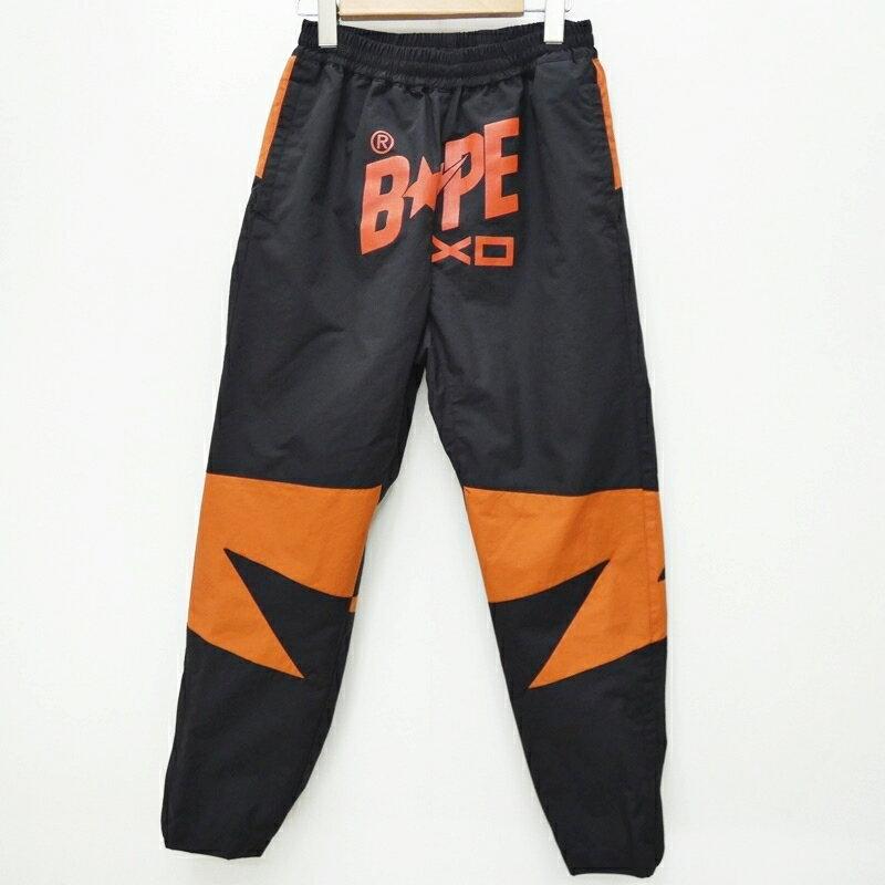 メンズファッション, ズボン・パンツ A BATHING APE 001PTF731922X BAPE XO BAPESTA TRACK PANTS S f107