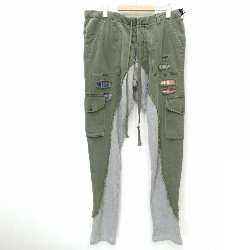 メンズファッション, ズボン・パンツ Greg Lauren 20ss 5050 LONG SLIM 3 f108