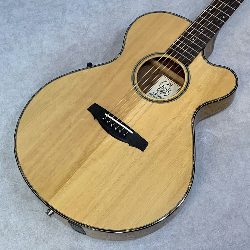 ギター, エレアコギター Crews Maniac SoundES-1500C Premium Limited 2010
