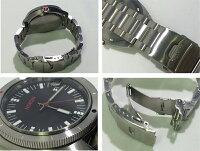 【】NIXON/ニクソンROVERSSIIBLACK/RED腕時計NA359008-00ブラック/レッド×シルバークォーツステンレススティールベルト