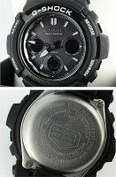 【】CASIO/カシオG-SHOCK/GショックGarishBlack(ガリッシュブラック)腕時計AWG-M100BWクォーツタフソーラー樹脂バンド10P05Nov16